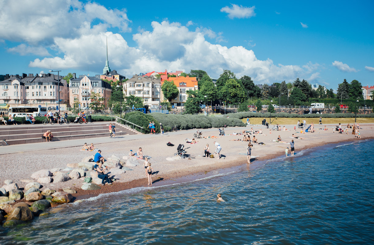 Suomen parhaat uimarannat