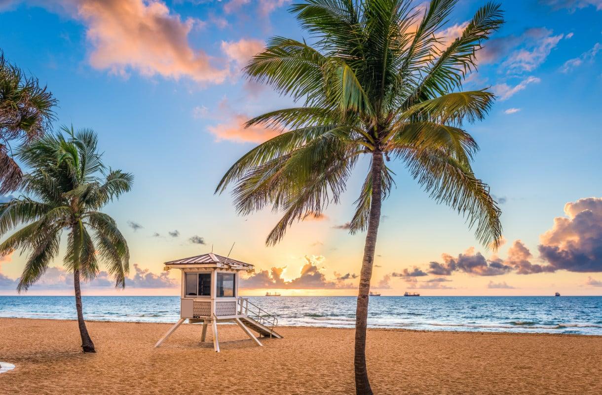 Fort Lauderdalen rannat