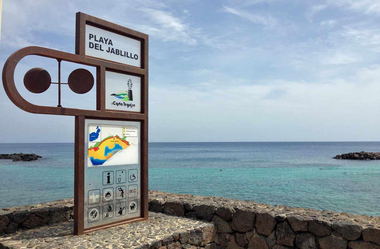 Lanzarote, Playa del Jablillo