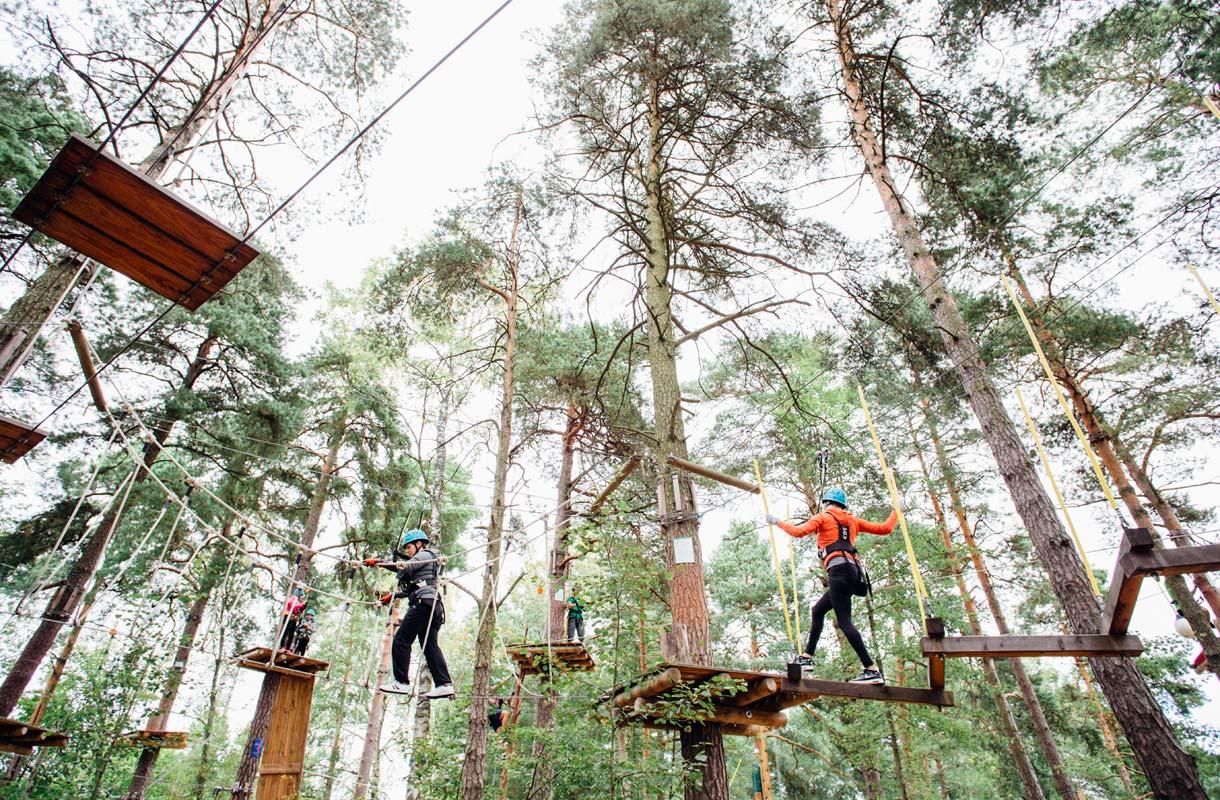 Suomen seikkailupuistot