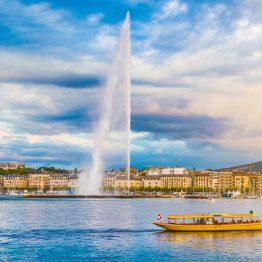 Genevenjärvi, Sveitsi