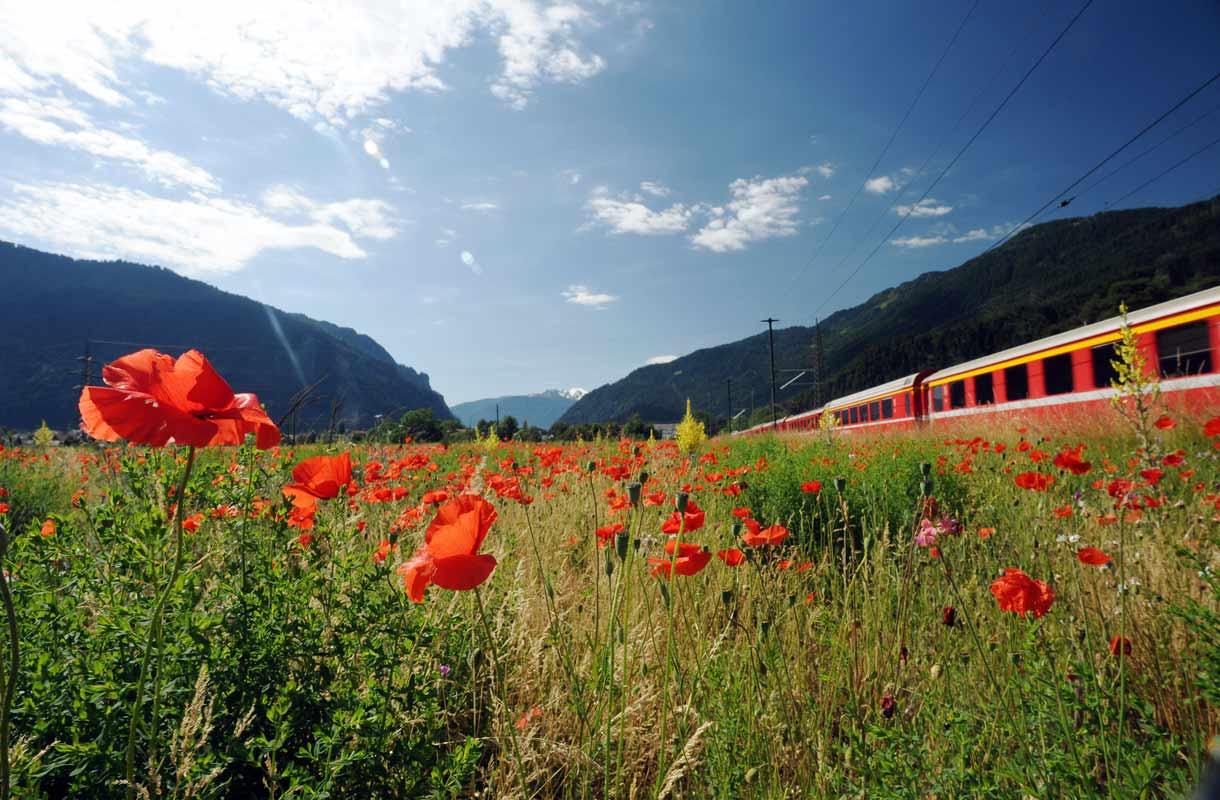 Rhätische Bahn, Sveitsi