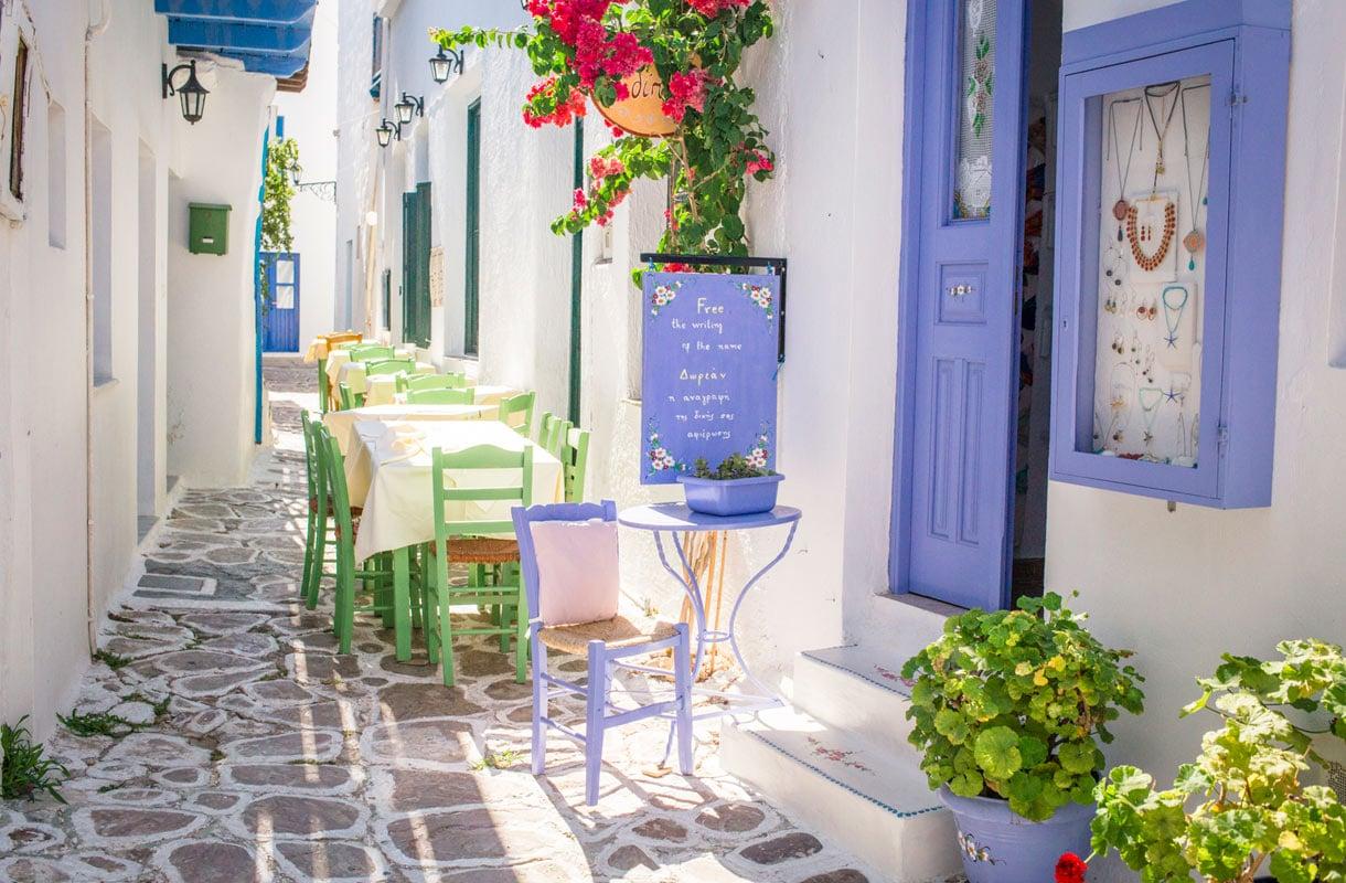 Milos, Kreikka