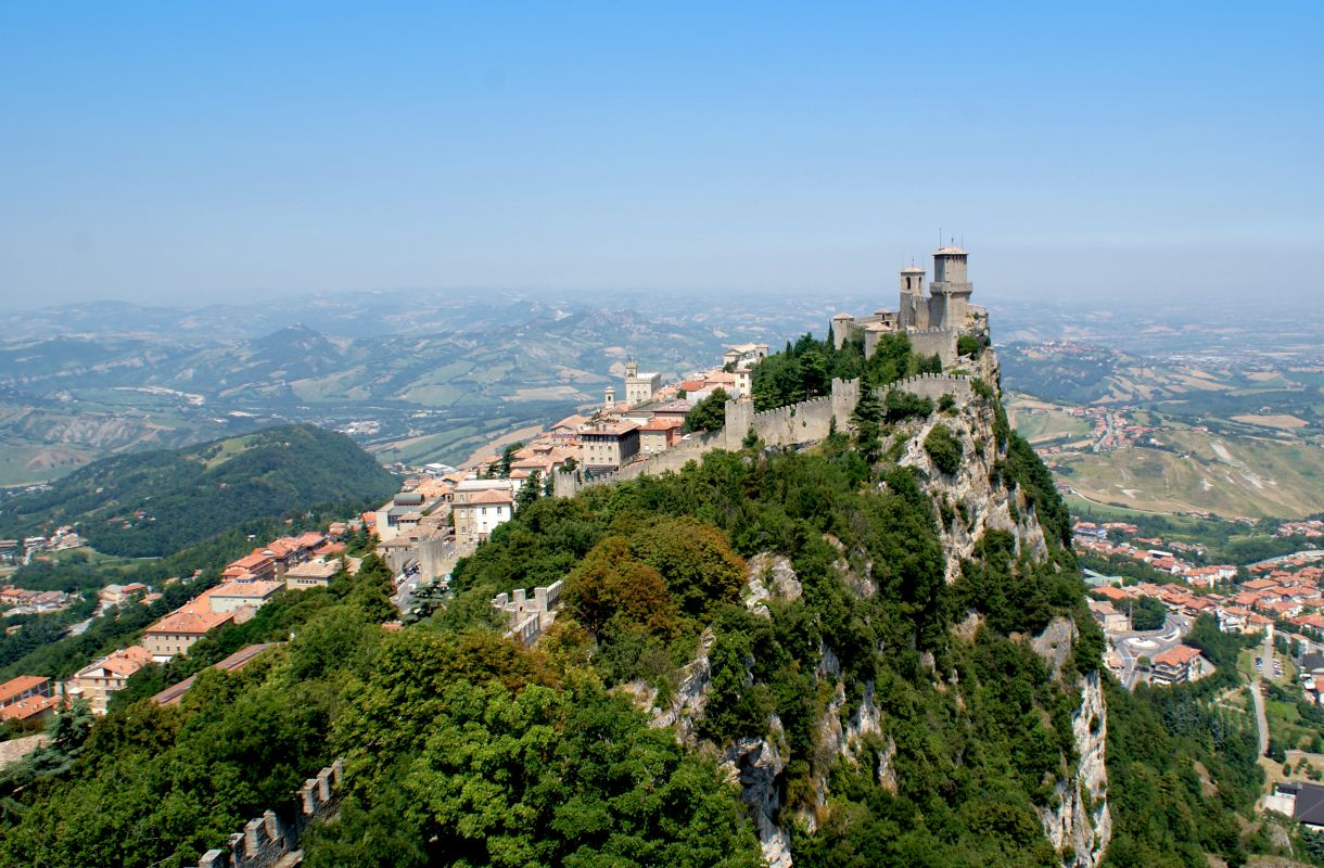 San Marino on Euroopan vähiten vierailtu maa