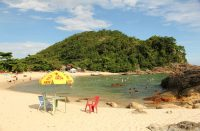 Brasilian Trindadesta löytyy nielevien kivien vesiliukumäki