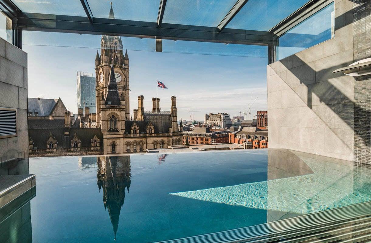 Manchesterin upein uima-allas