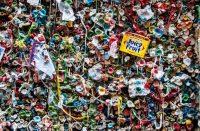Seattlen omituinen Gum Wall