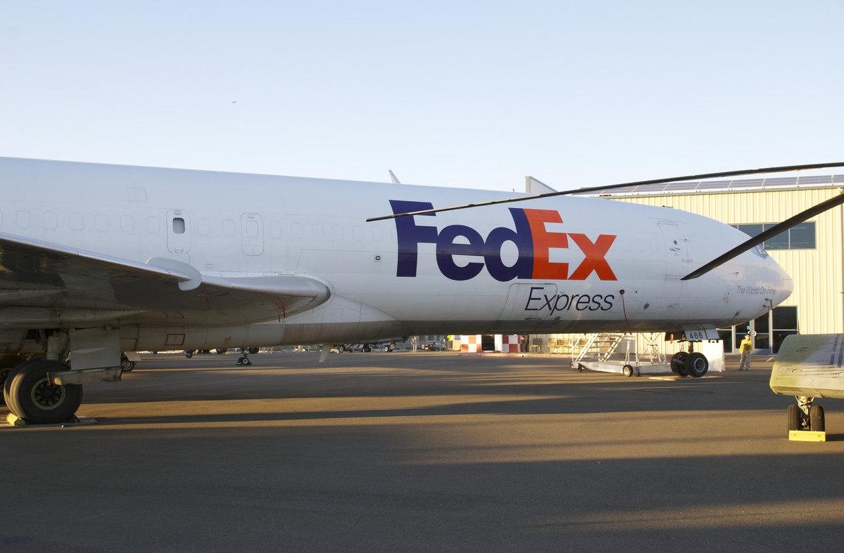 FedEx Express -lentoyhtiöllä on jättimäinen verkosto