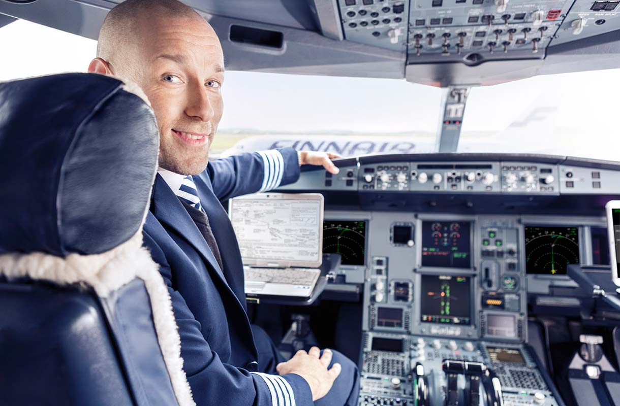Finnairin lentäjä