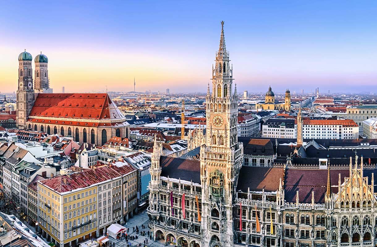 Münchenin joulumarkkinat