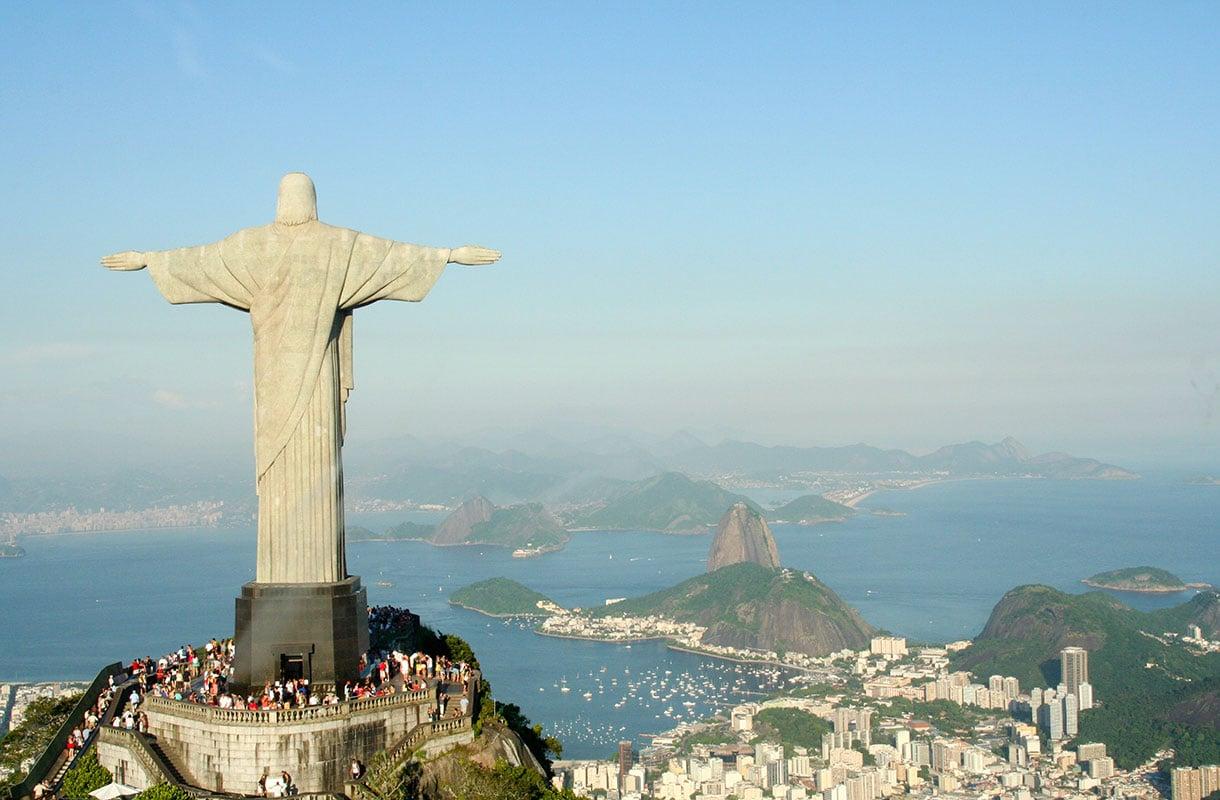 Rio de Janeiron rannat