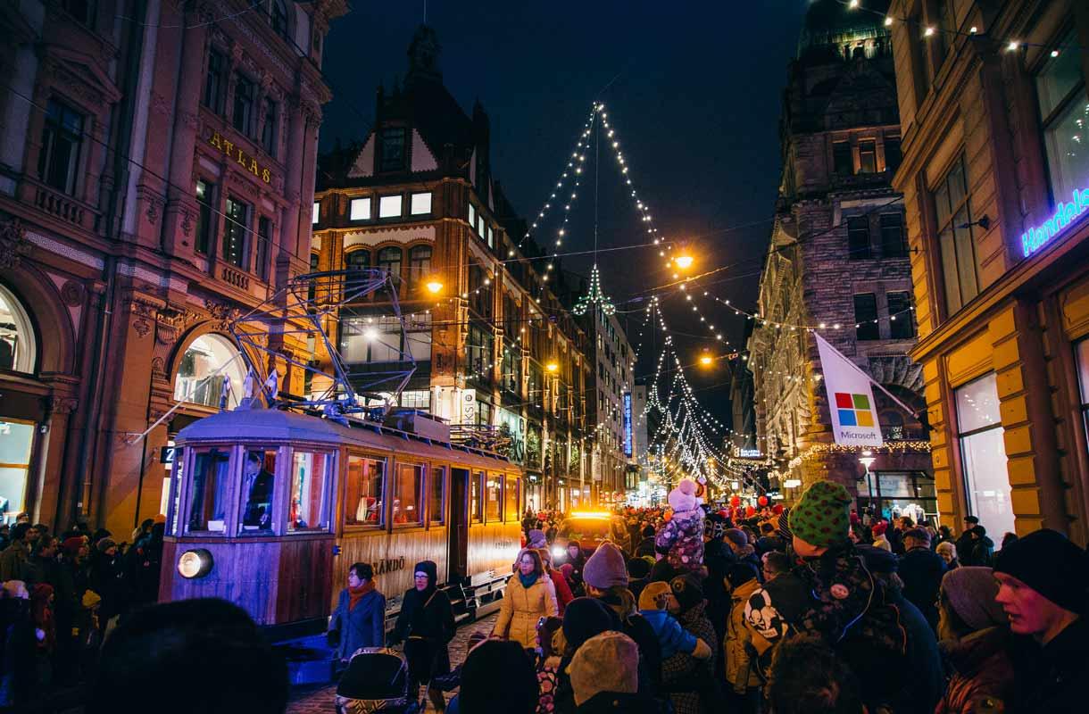 Joulutapahtumat Helsingissä