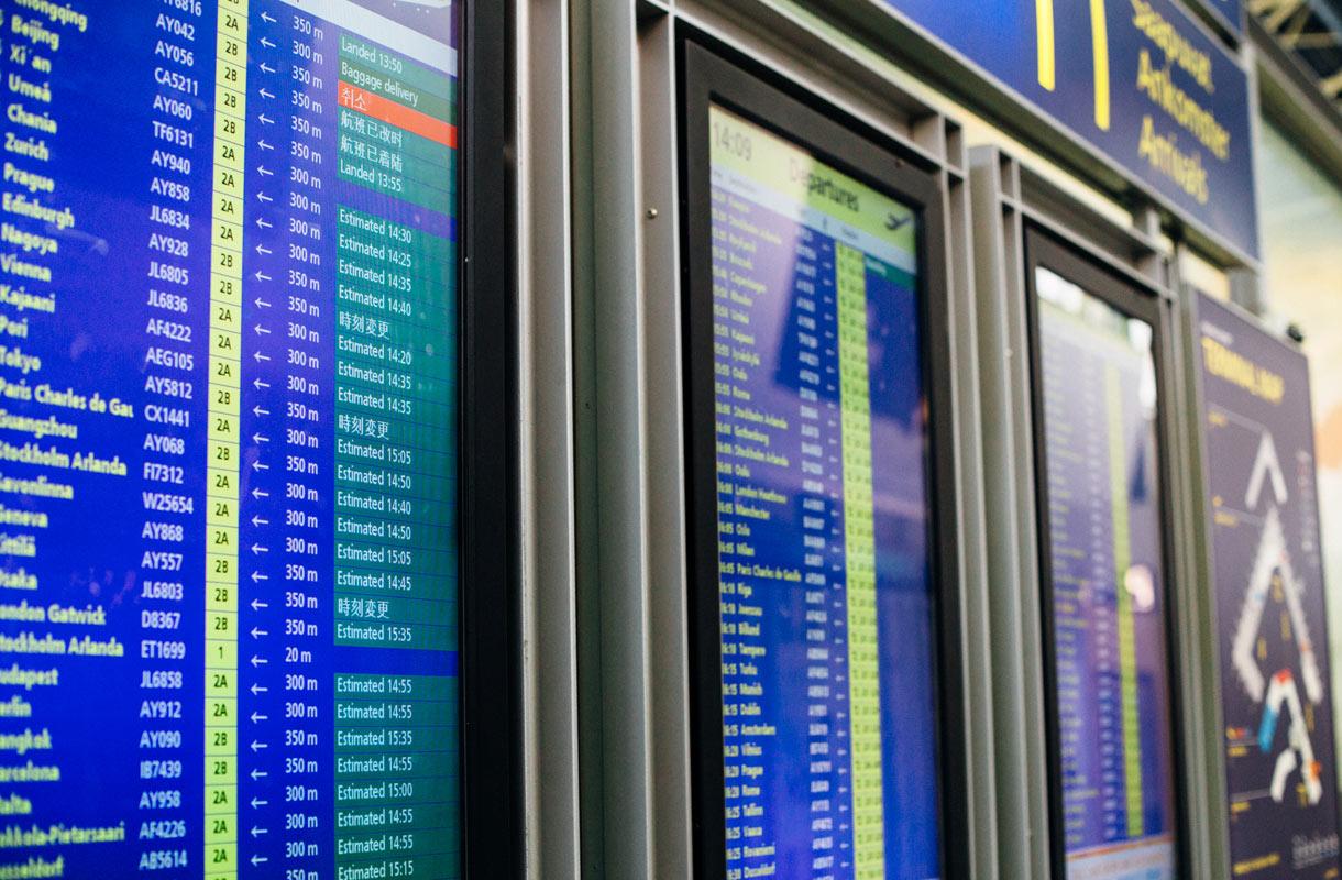 """Tämä on lentokenttien """"golden hour"""""""