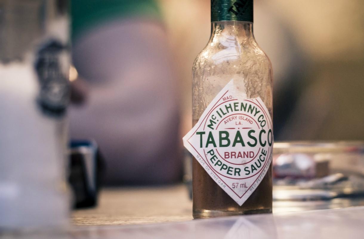 Tabasco-kastike valmistetaan Avery Islandin saarella