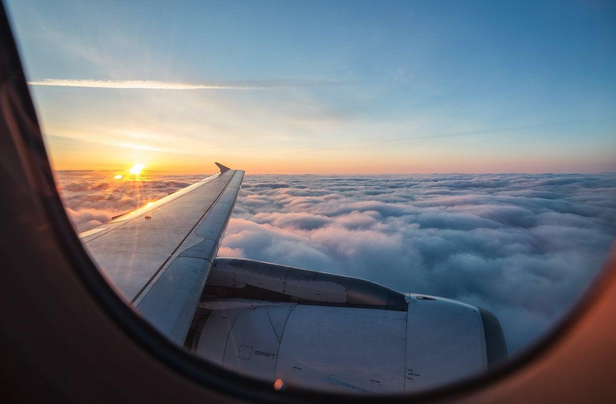 Voiko lentokoneen siipi mennä poikki?