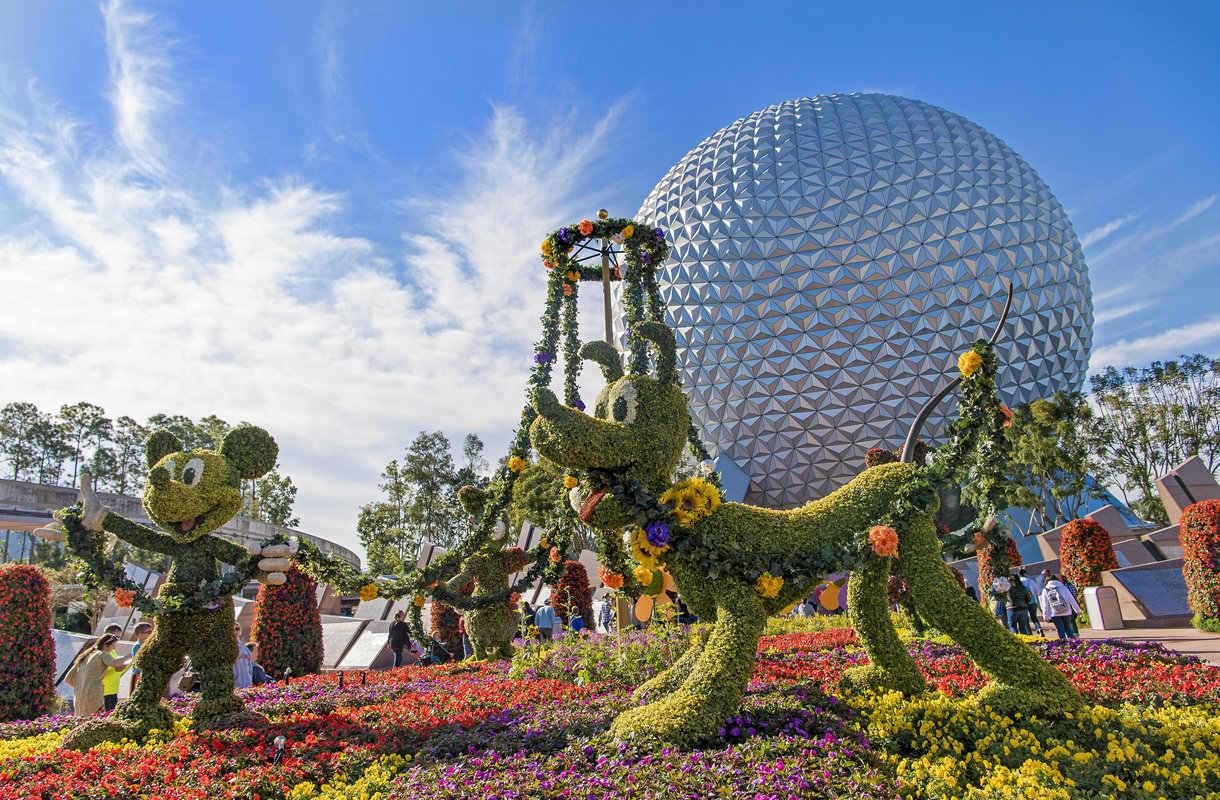 Disneyn hylätty lentokenttä Floridassa