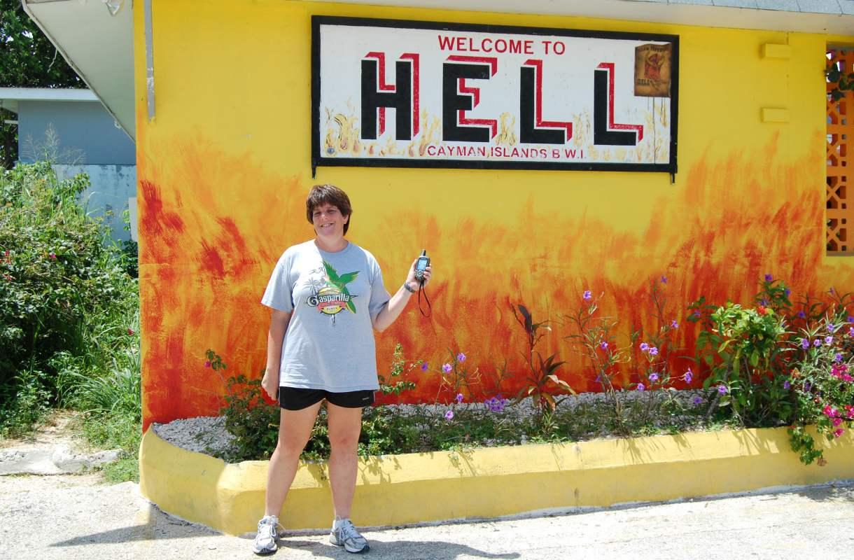 Caymansaarten Hell on Karibian helvetti