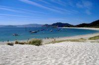 Espanjan Cies-saarilta löytyy vähemmän tunnettuja paratiisirantoja