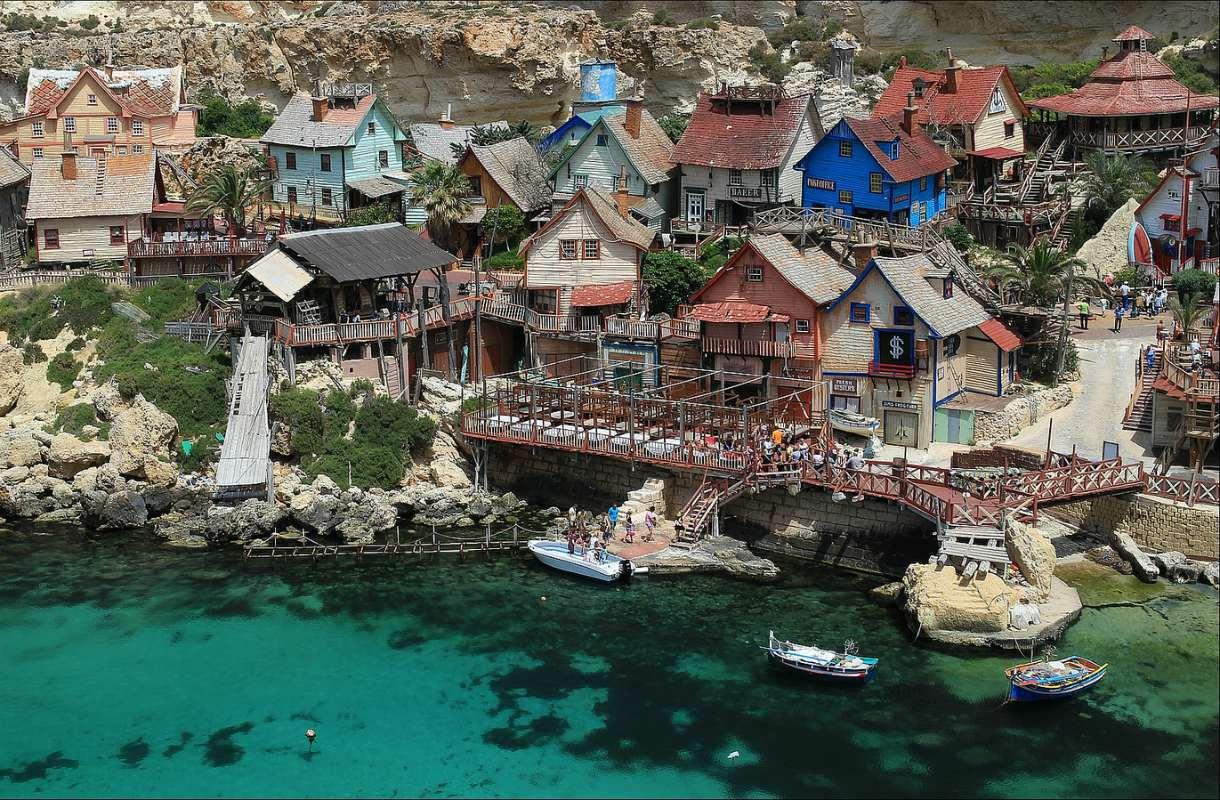 Kippari-Kallen kylä Maltalla