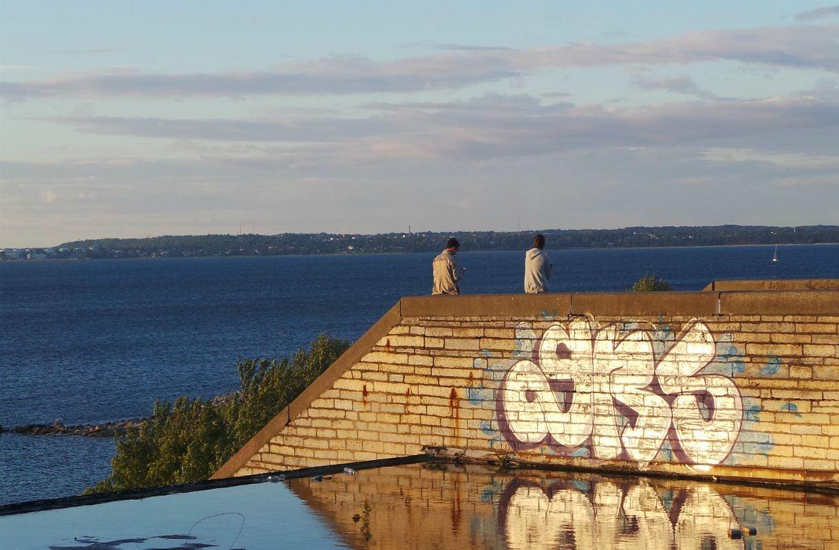 Linnahallin katto Tallinnassa