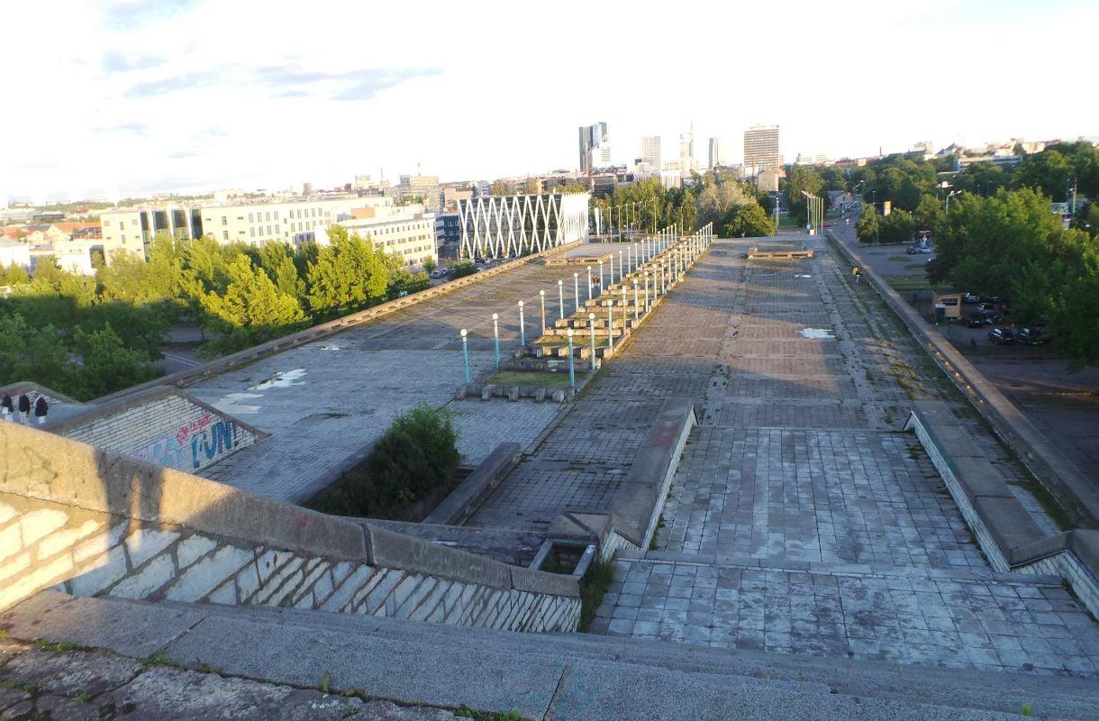 Linnahall rakennettiin Moskovan olympialaisia varten