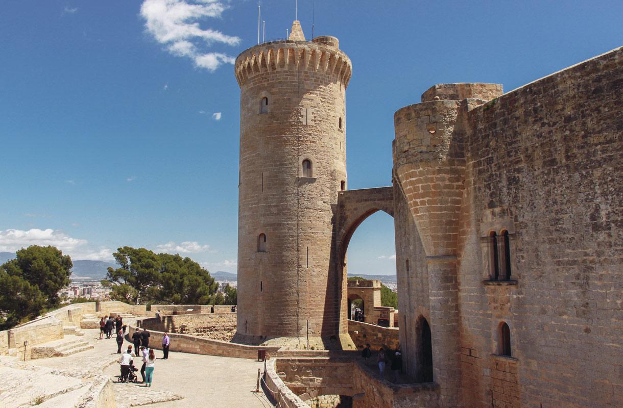 Bellverin linna, Mallorca