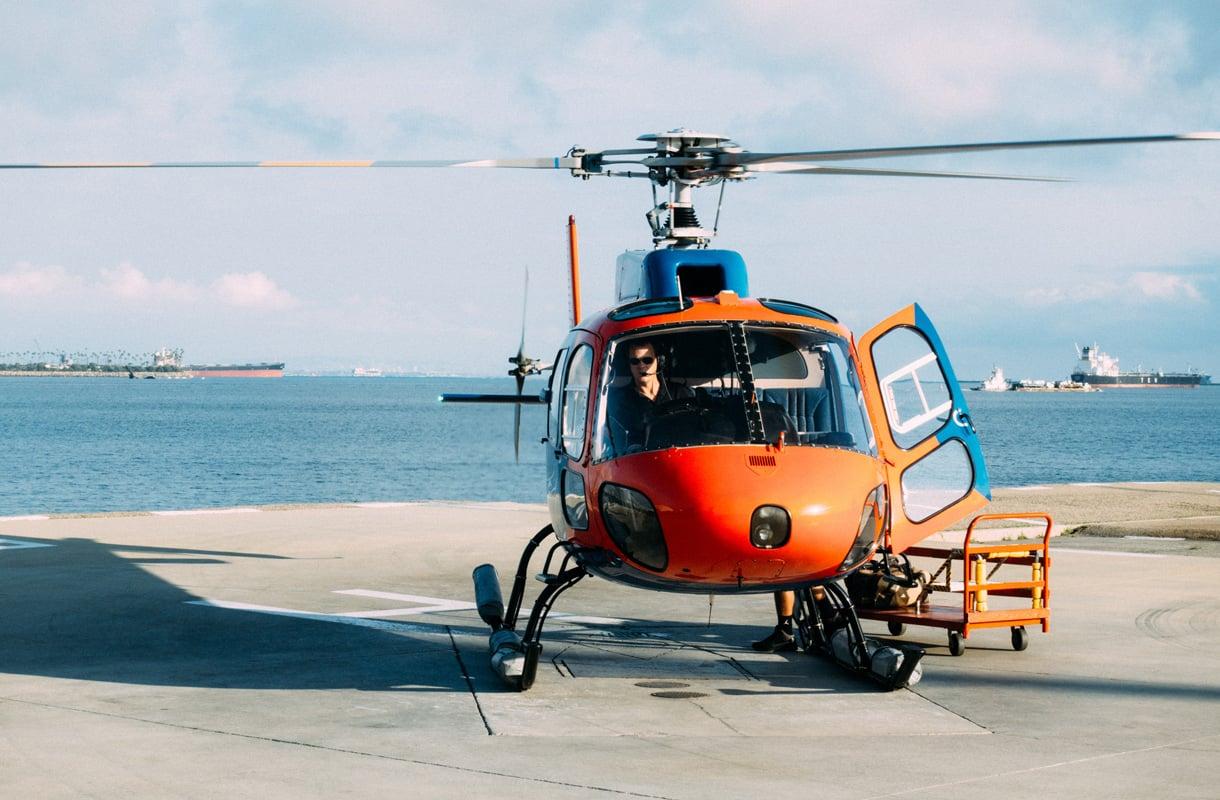 Helikopterilento hotelliin