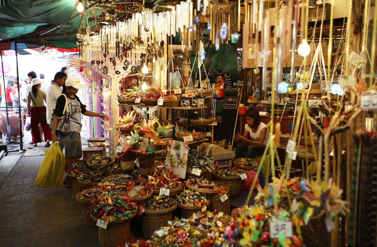 Chatuchakin markkinat, Bangkok