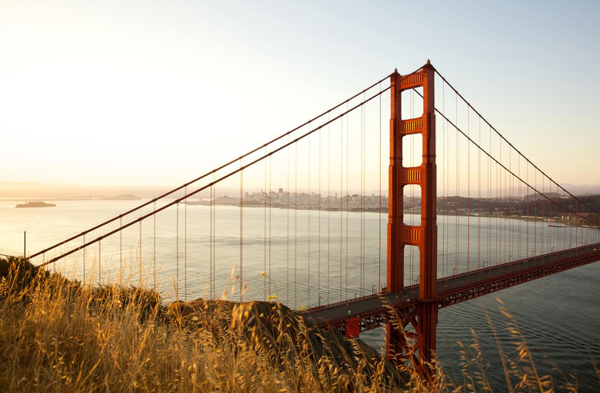 Golden Gate on San Franciscon ykkösnähtävyys