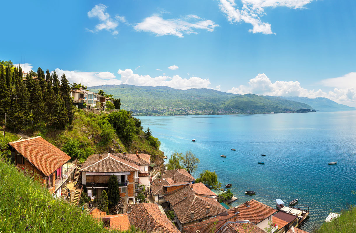 Ohridjärvi, Makedonia