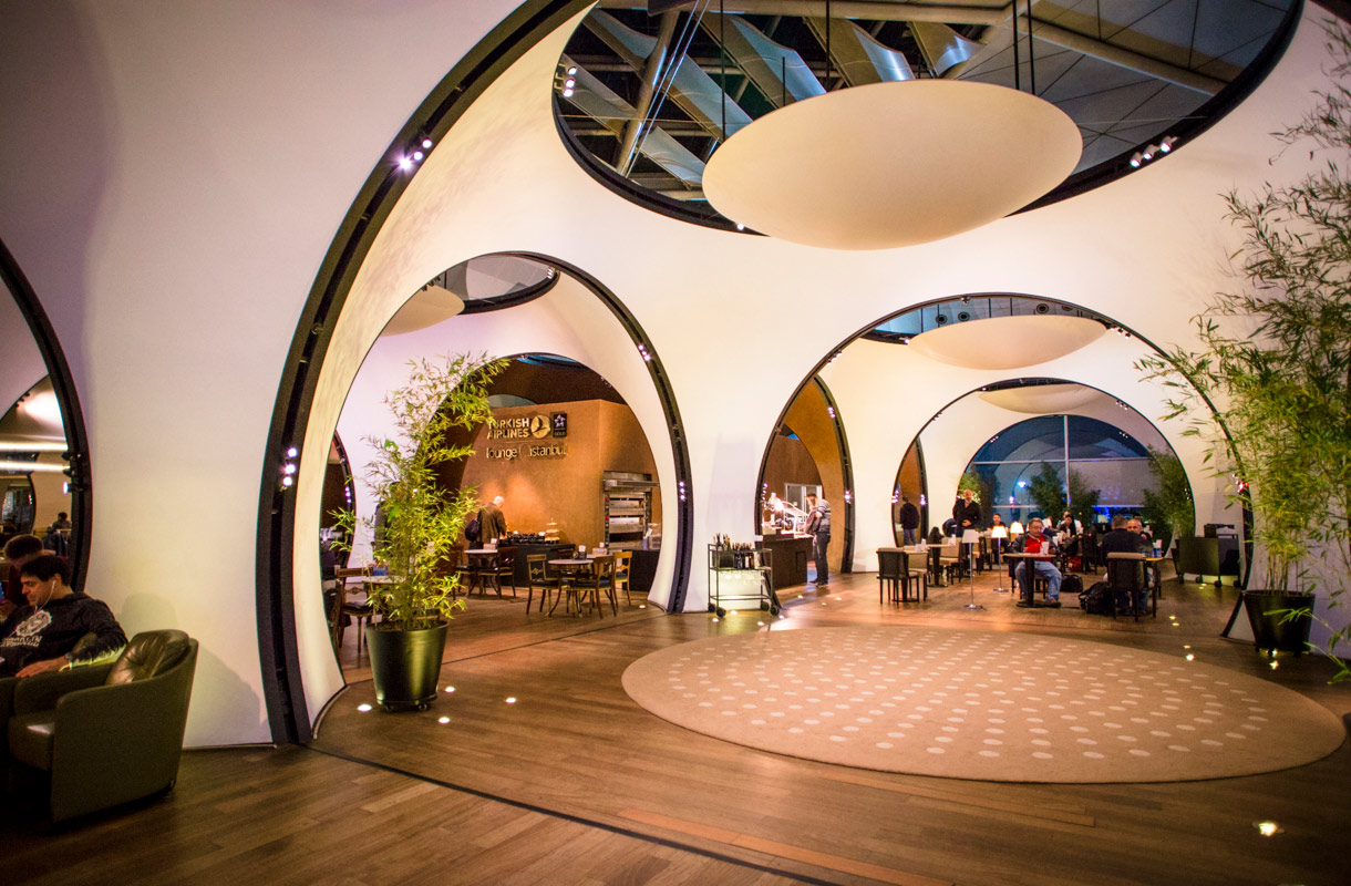 Turkish Airlinesin lounge