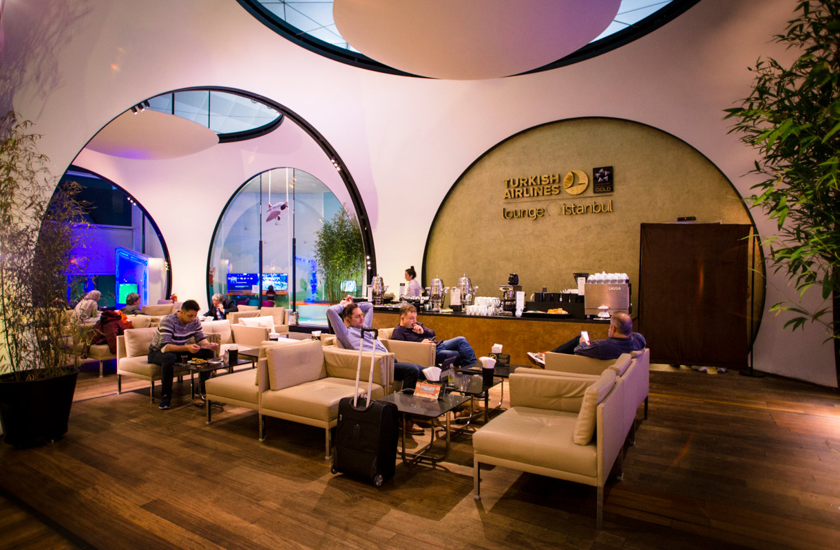 Turkish Airlinesin lounge