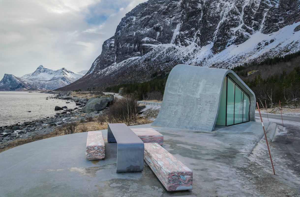 Ureddplassen on tyylikäs wc Norjassa