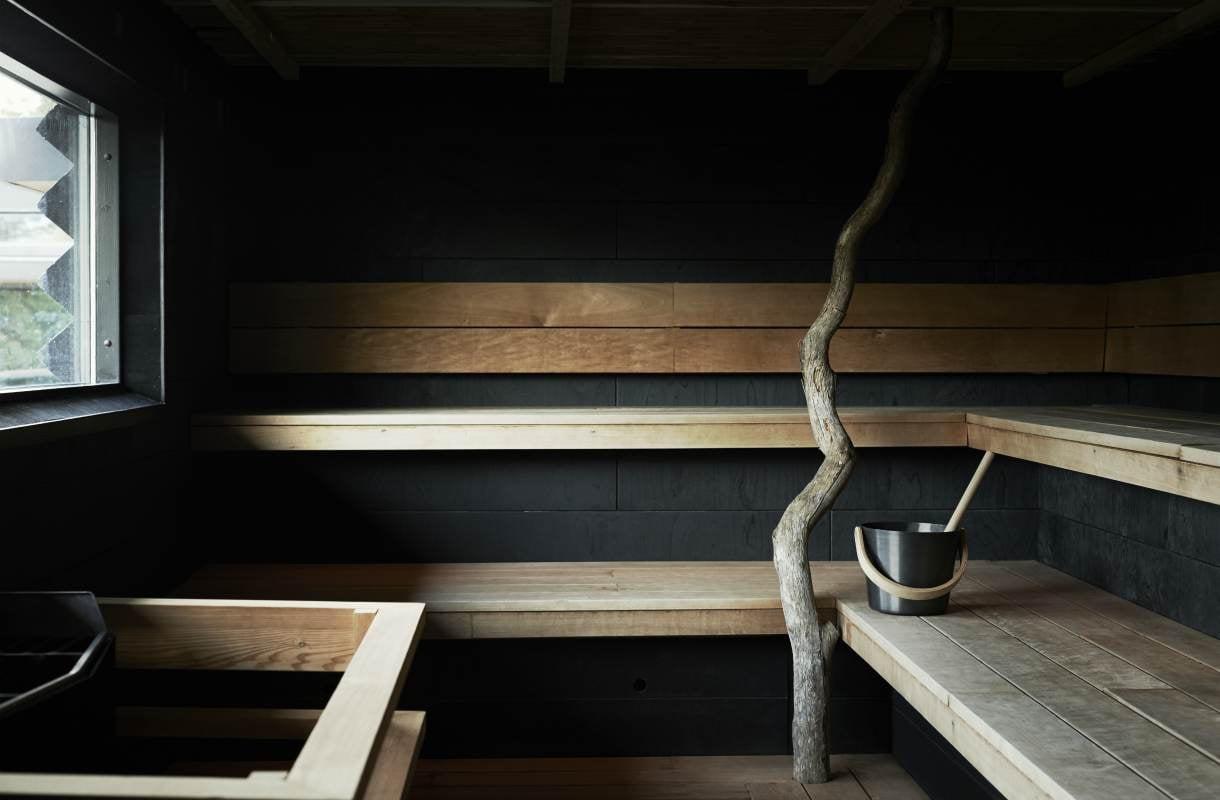 Yasuragi-kylpylän sauna Tukholmassa