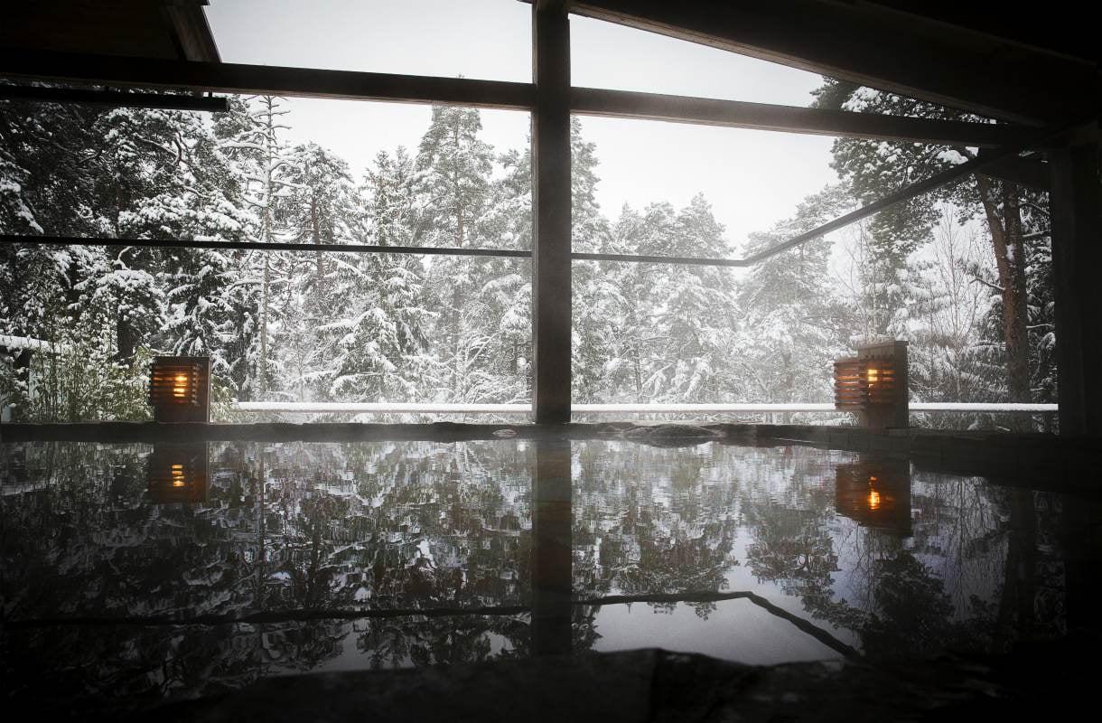 Kylpyläloma talvella Tukholmassa
