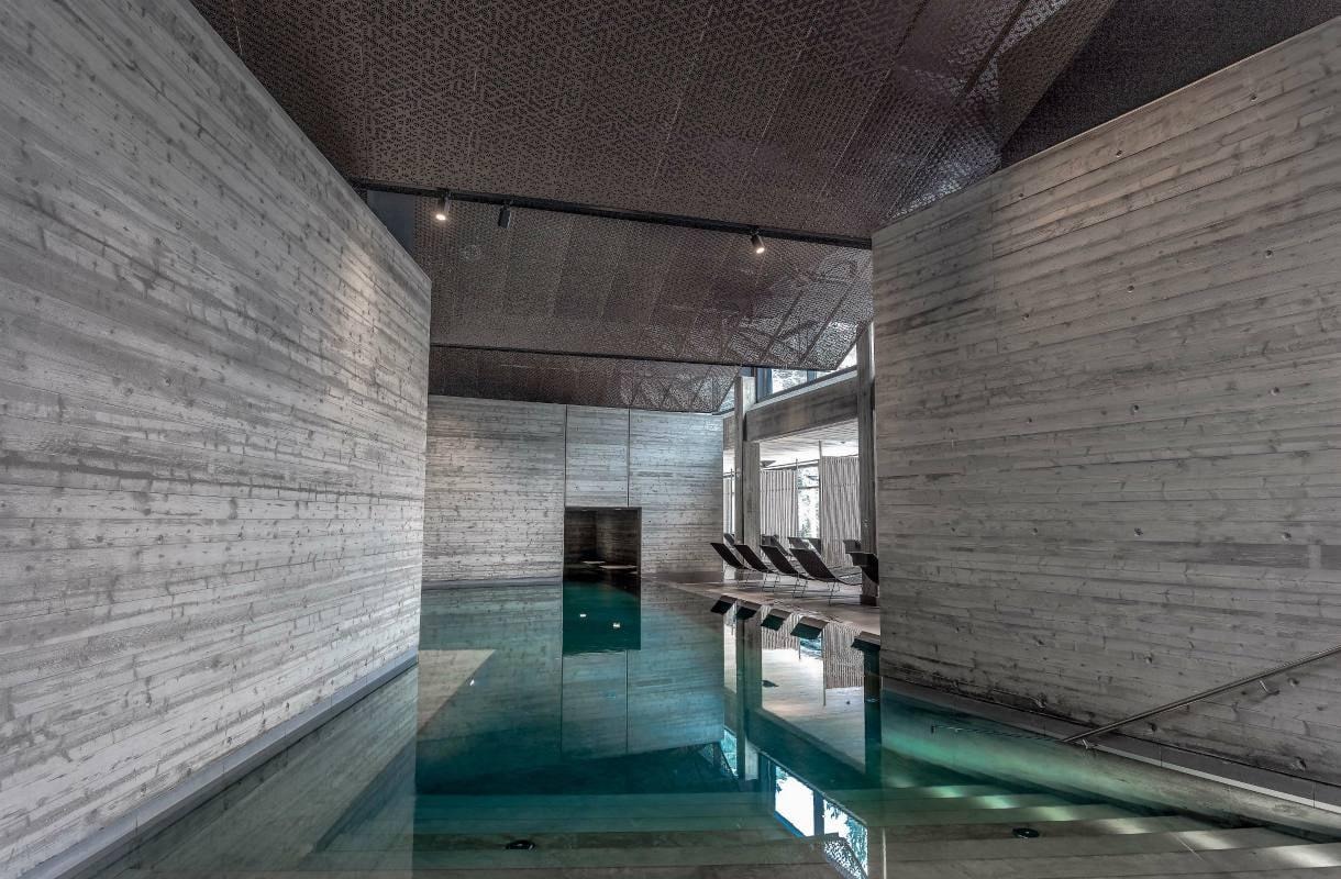 Yasuragi-kylpylän uima-altaat