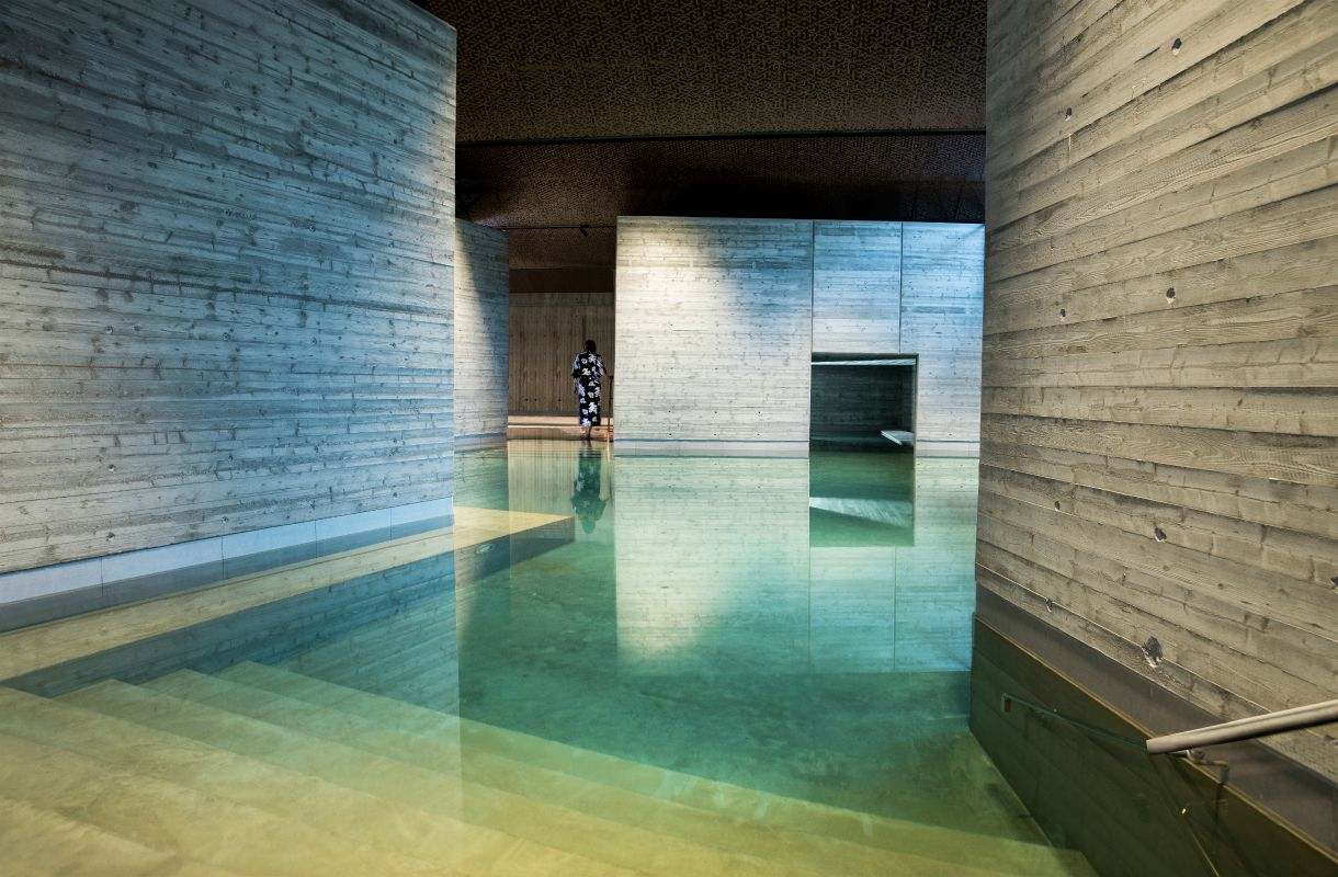 Japanilainen kylpylä Tukholmassa