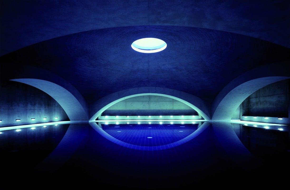 Liquidrom on suosittu kylpylä Berliinissä