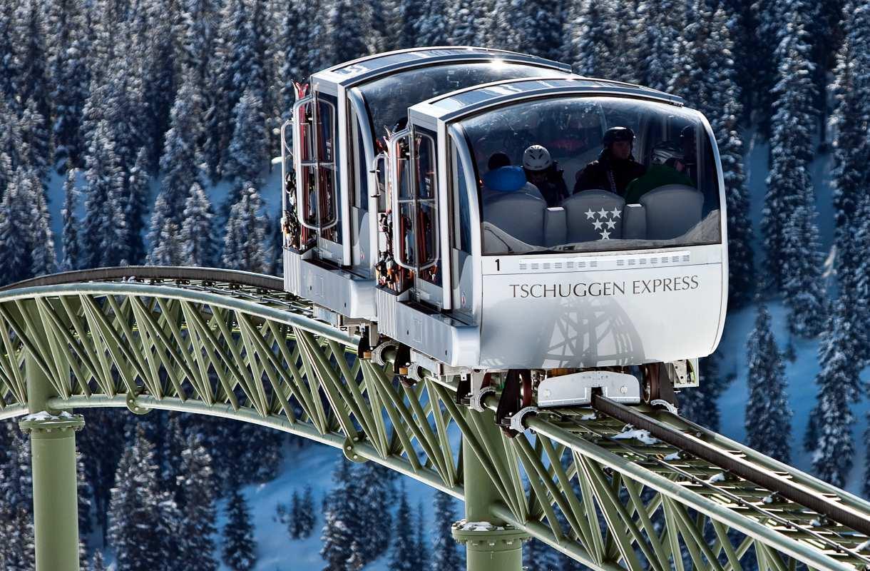 Tschuggen Express avattiin vuonna 2009