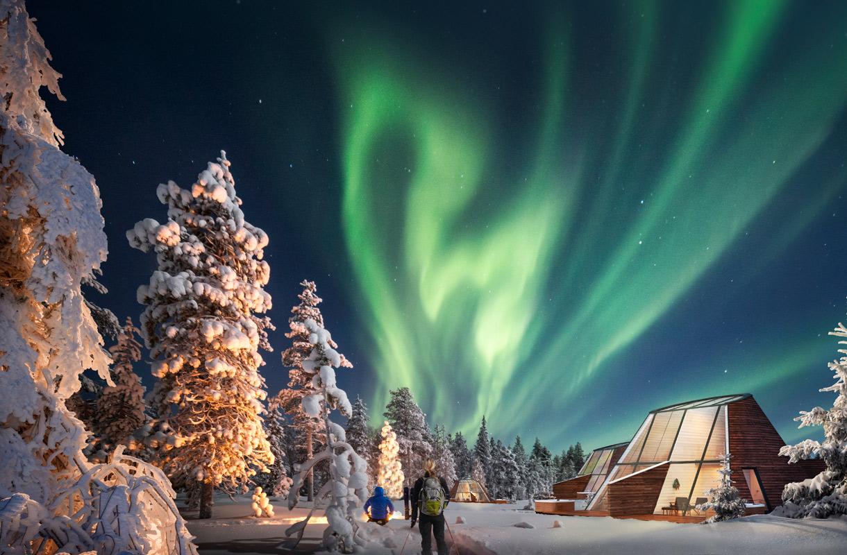 Snowman Glass Resort, Rovaniemi
