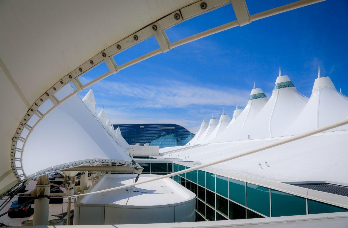 Denverin lentoasema Coloradossa