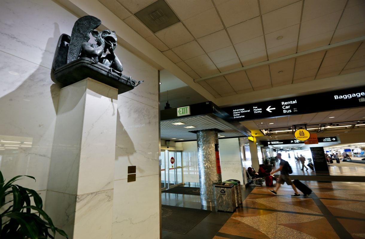 Taidetta Denverin lentokentällä