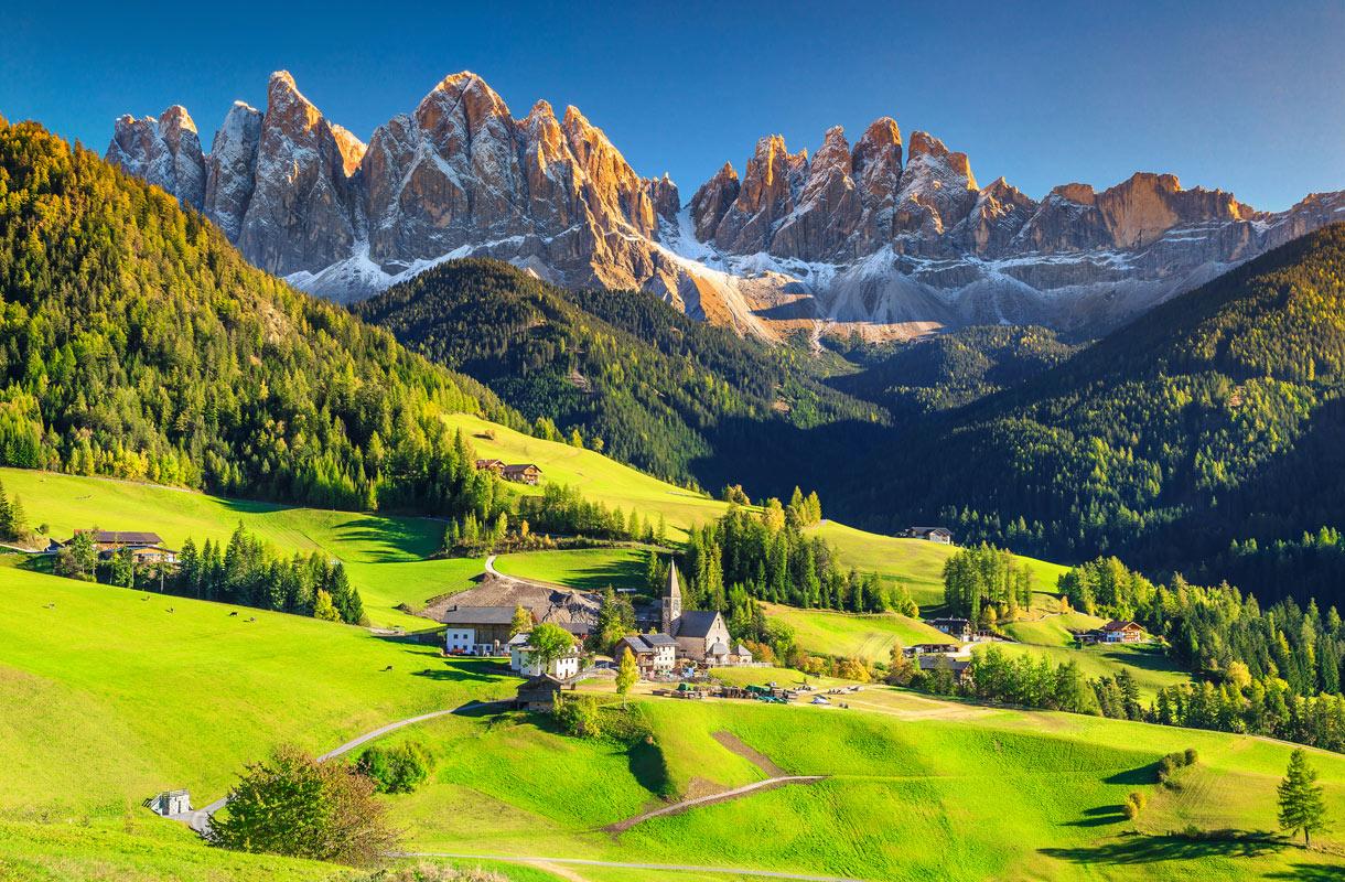 Dolomiitit, Italia