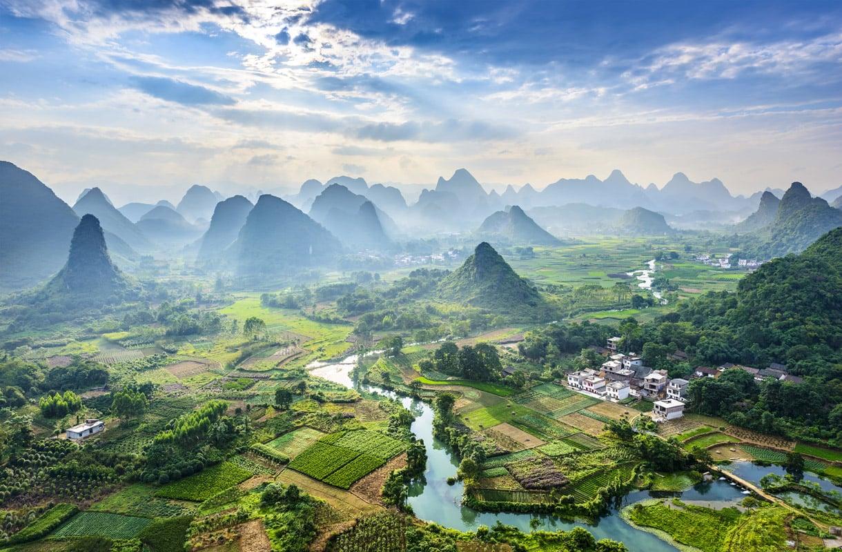Guilinin kansallispuisto, Kiina