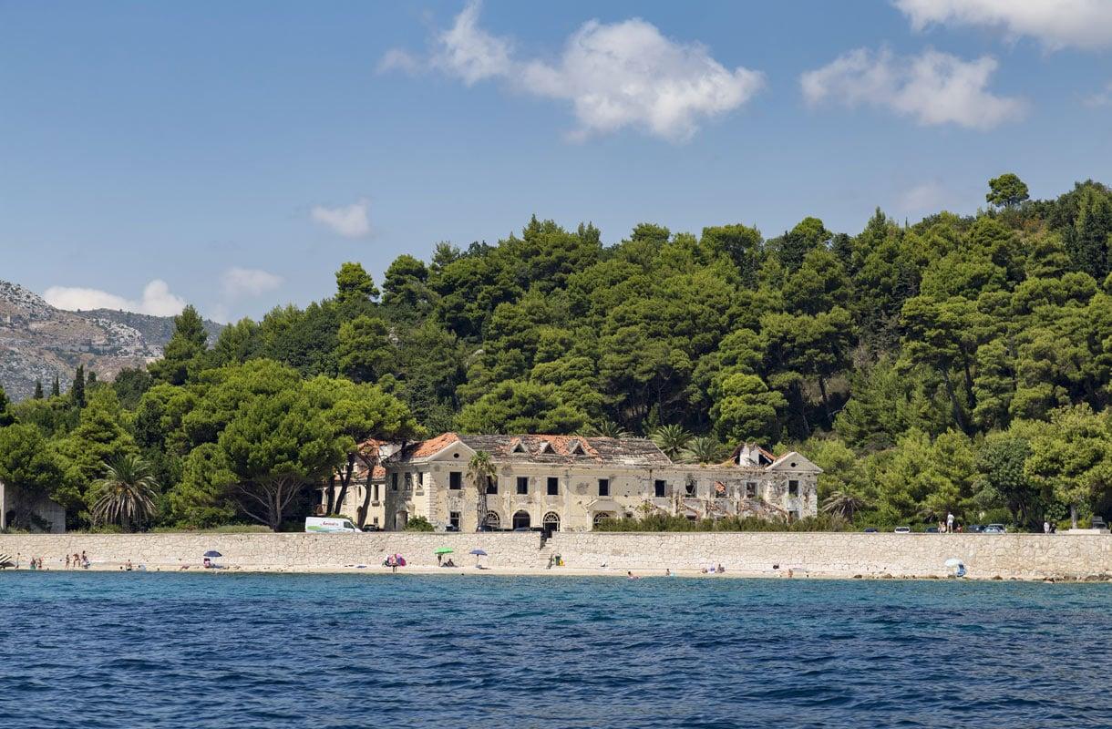 Kuparin ranta, Kroatia