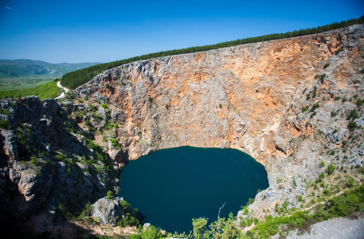 Punainen järvi, Kroatia