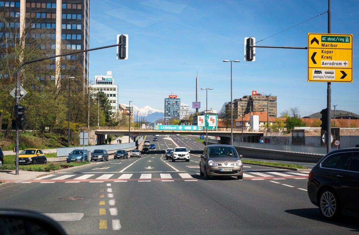 Autoilu Sloveniassa