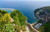 Amalfin rannikon kaunein uima-allas