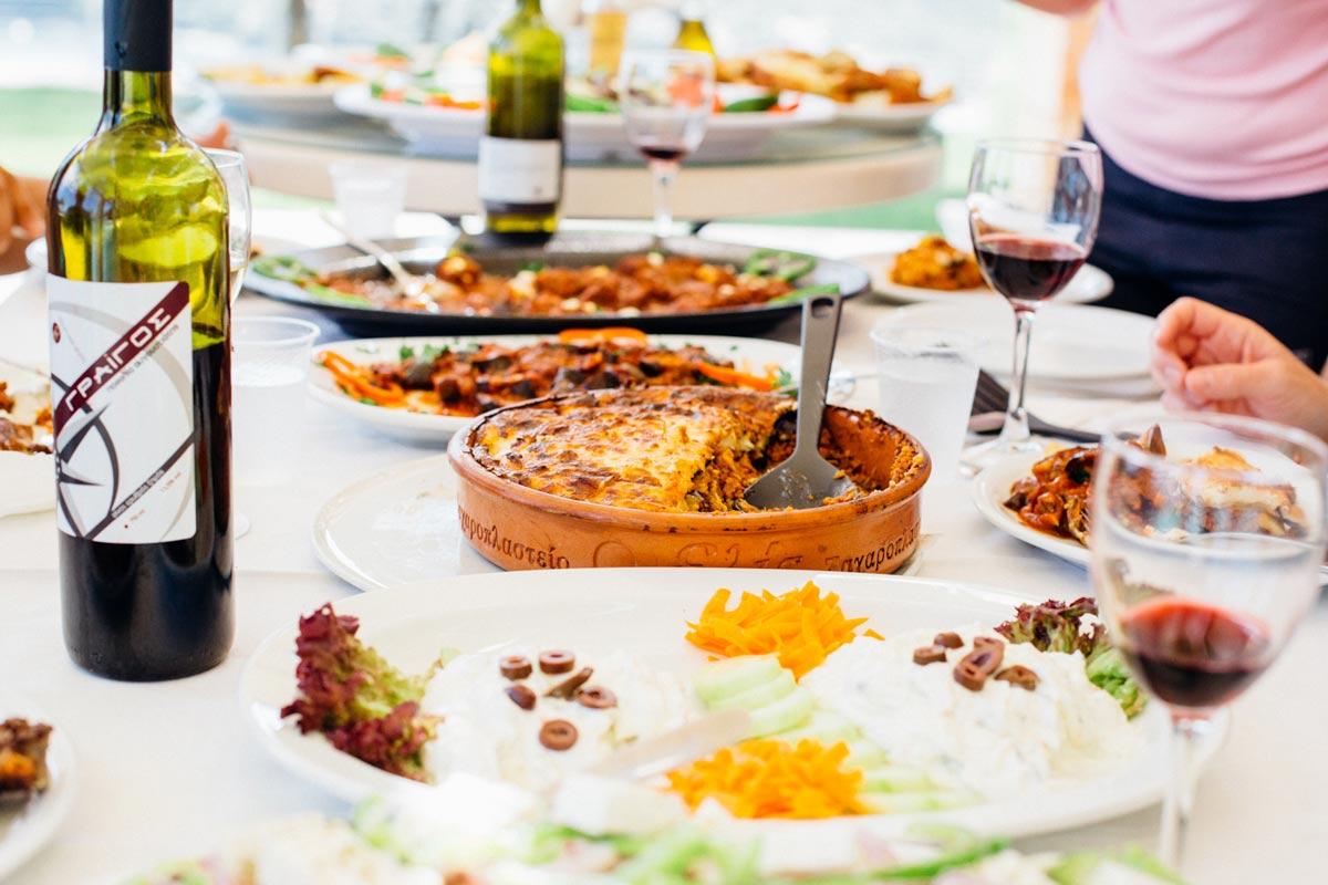 Tyypilliset kreikkalaiset ruoat