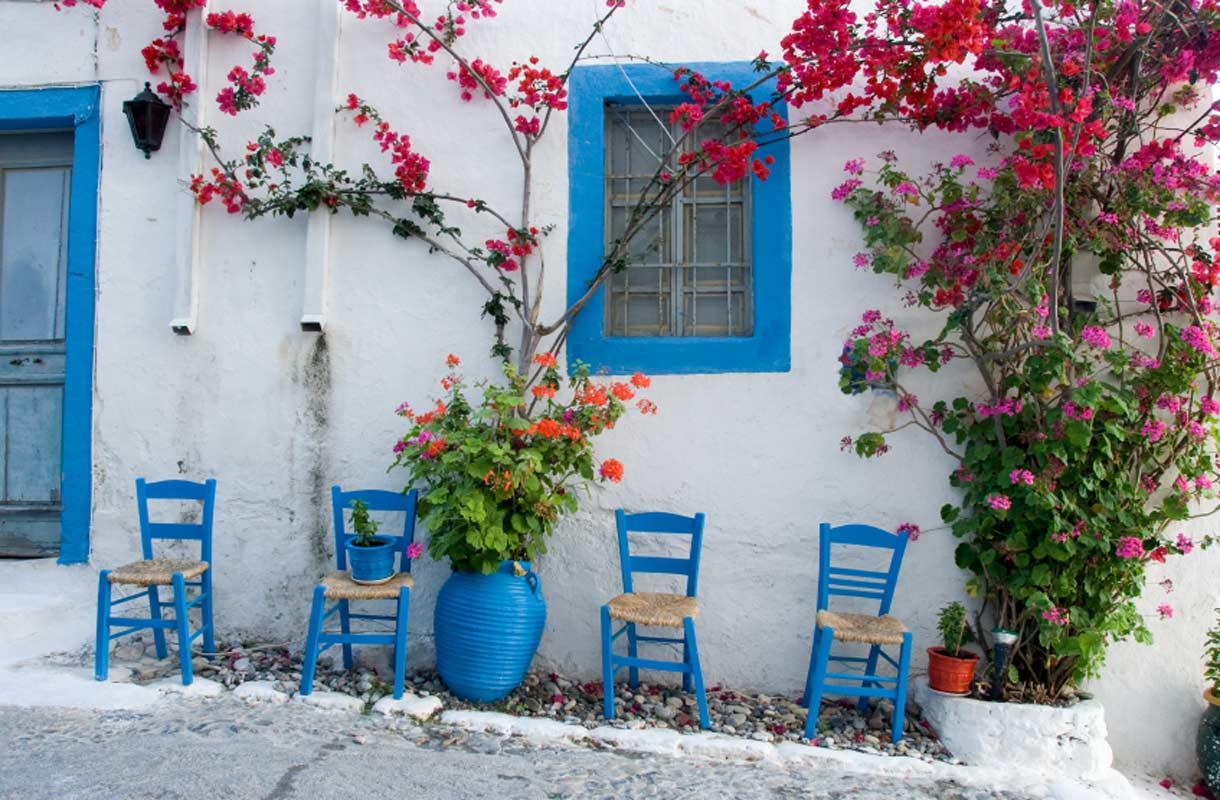 Domatia-majoitus on edullinen tapa yöpyä Kreikassa
